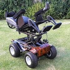 Xzavier Davis-Bilbo would look great in this all terrain wheelchair. Lean back.
